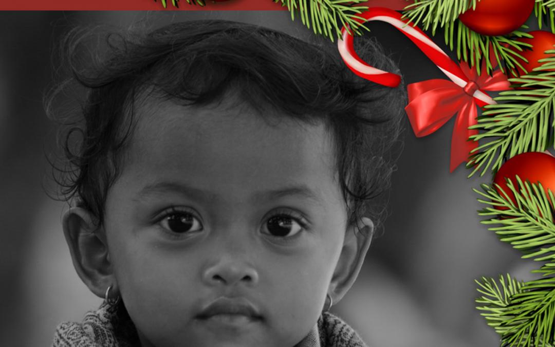 Vista uma criança neste Natal